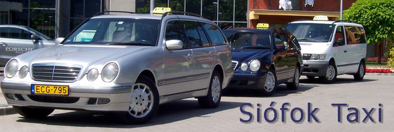 Transfer, travel door-to-door from Budapest Airport - to Siofok - 140 km / 1.5 hours - transport by taxi or minivan with english, german speaking driver.